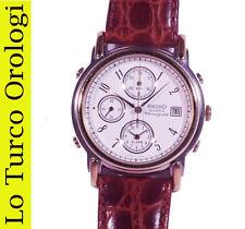 OROLOGIO DA POLSO SEIKO CITY LINE ANNO 1992 CHRONO ALARM NUOVO WRIST WATCH
