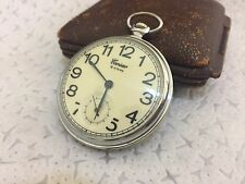 Vintage Soviet Pocket watch Molnija (Corsar ) made in USSR Mechanical Watch