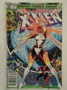 Uncanny-X-Men-164-VF-NM-9-0-1st-Appearance-Carol-Danvers-as-Binary