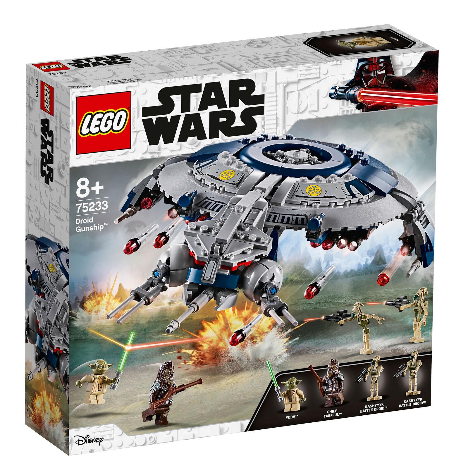 75233 LEGO  Star Wars droid destroyer 389 PIECES 8+ ans nouvelle version pour 2019  sortie