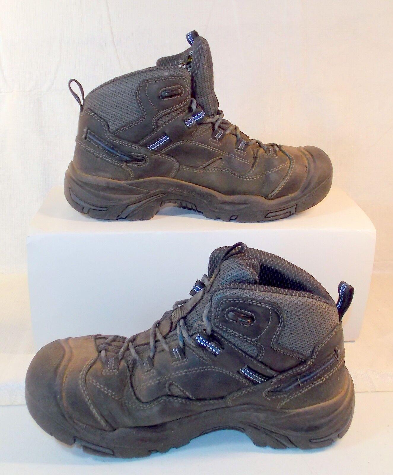 KEEN 1014605 Men's Braddock Mid Soft Toe Waterproof Work Boot US Size 8 D