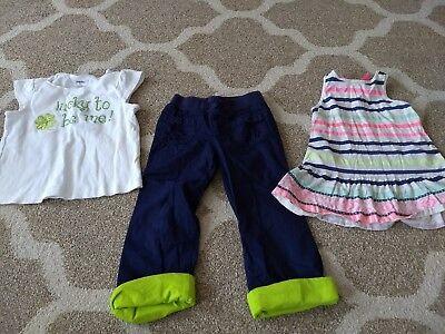 Gymboree Patricks Day St Tank Circo Size 4t Oshkosh Lot Of Girl's Clothes