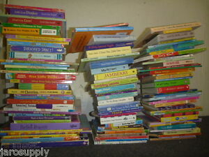 Lot-of-20-Childrens-BOARD-Hardcover-BABY-TODDLER-DAYCARE-Kids-BOOKS-RANDOM-MIX