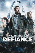 "Defiance TV show poster 24x36""   Grant Bowler Julie Benz Stephanie Leonidas"