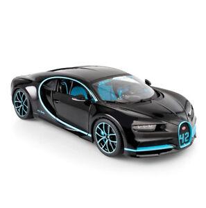 01:18 Bugatti Chiron 42 Deuxième Édition Spéciale, Modèle De Voiture Décapotable Bburago 4893993010936