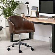 Leather Modern Executive Computer Gaming Chair Conference Desk Office Task Chair