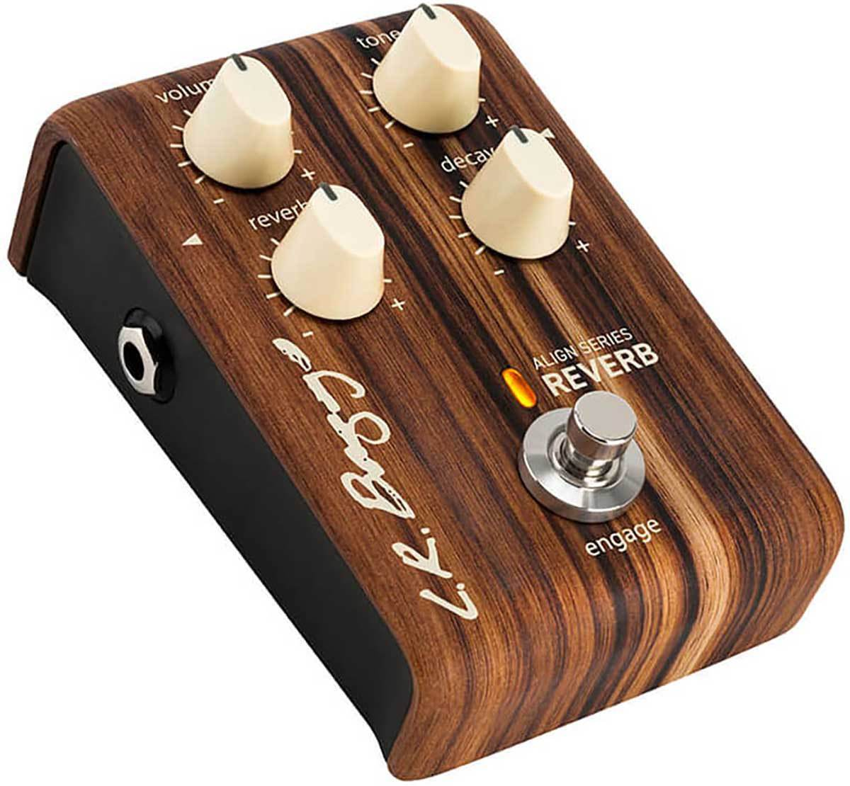 LR Baggs Align Series REVERB Acoustic Pedal with Decay, Volume, Tone, True Bypas