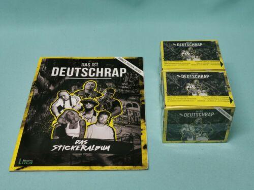 2 x Display 100 Tüten Album Panini Das ist Deutschrap Sticker Sammelalbum