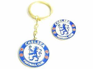 Official-Licensed-Chelsea-Crest-Keyring-amp-Badge-Set-One-Size