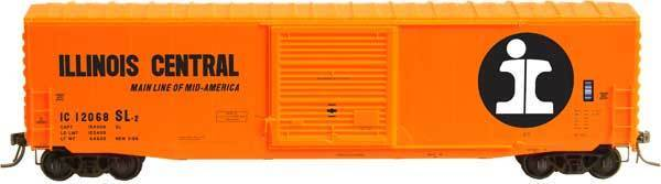 KADEE 6401 ILLINOIS CENTRAL 50/' PS-1 Boxcar HO Scale 10/' Door # 12068