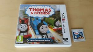 Thomas & Friends Steaming Around Sodor Nintendo 3DS Tank Engine ...