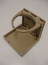 plastic folding suv coffee  CUP HOLDER KHAKI car detentor universal antelope