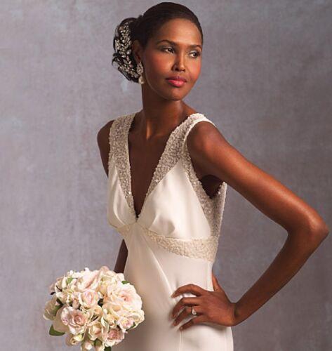 Vog... Vogue Ladies Sewing Pattern 1032 Elegant Wedding Dress Free UK P/&P