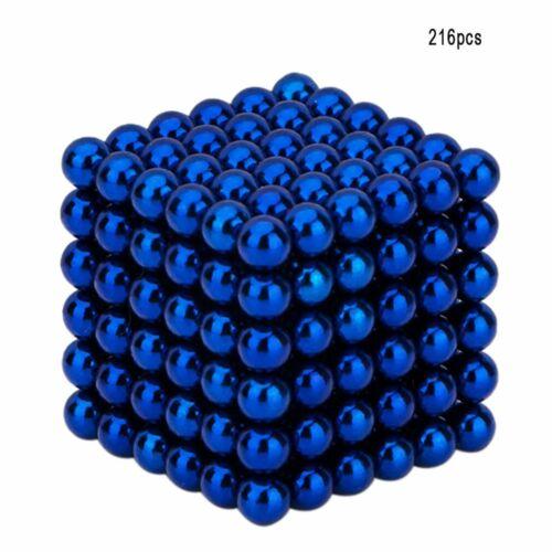 512Pcs 5//8mm Boules Magnétiques Perles Magiques 3D Puzzle Ball Sphère Wh