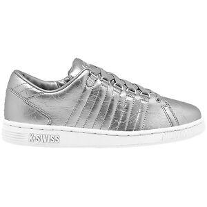 Schuhe 95053 Old Argent K Iii Women Sneaker Belmont Foil 086 Blanc Lozan swiss qqZ0a