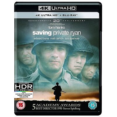 Saving Private Ryan (4K Ultra HD + Blu-ray) [UHD]
