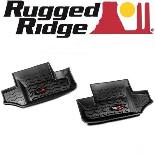 Jeep wrangler jk set paillassons tapis arrière All terrain rugged ridge 07-16