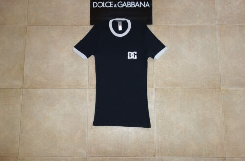 M Made Runway In Label Zeldzaam Gabbana Voetbal Black Calcio Dolce Italy T 7 shirt Faqxzvc