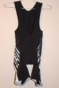 Scott Bike Wear Men s Bib Shorts Size X-LARGE BLACK WHITE 218485 ... ca2a21e52