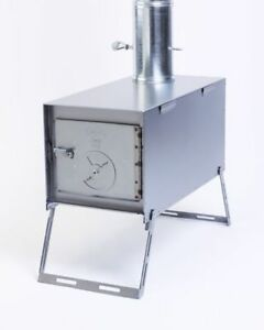 Image is loading NEW-Lightweight-Packer-Wood-Stove-for-Outfitter-Canvas- & NEW! Lightweight Packer Wood Stove for Outfitter Canvas Wall Tent ...