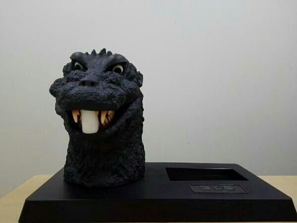 Rare Item Godzilla Head Figure BOX From JAPAN Free shipping