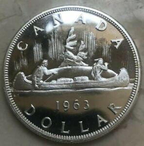 1963 Canada 1 One Dollar - Sharp Prooflike PL