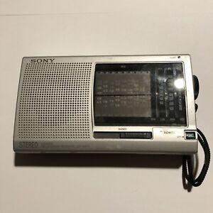 SONY-ICF-SW11-Shortwave-Radio-FM-Stereo-MW-LW-SW-12-Band-Receiver-W-Manual