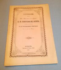 MEXICO, Report by City Council  bakeries. Informe hecho por el ayuntamiento 1848
