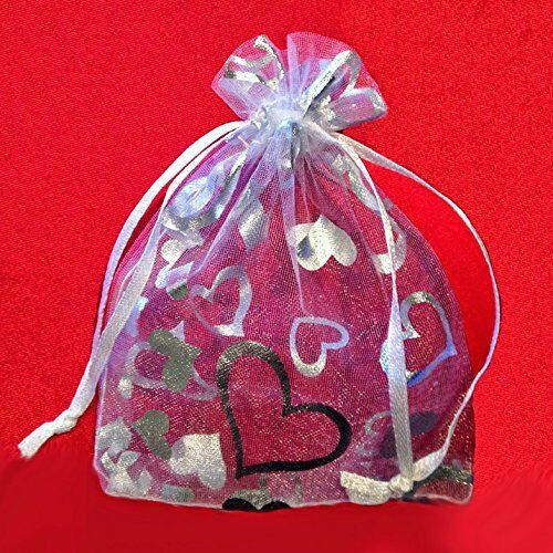 50 Party Favor Gift Bags Jewelry Pouches Goody Bags Wedding-Baby Shower Bags