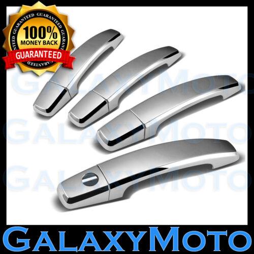 06-12 GMC Acadia+10-12 GMC Terrain Chrome 4 Door Handle w//o PSG Keyhole Cover
