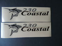 Wellcraft Coastal 230 Fishing Boat Decal Set