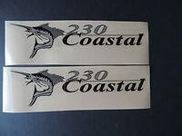 Wellcraft Coastal 230 Fishing Boat Decal Set