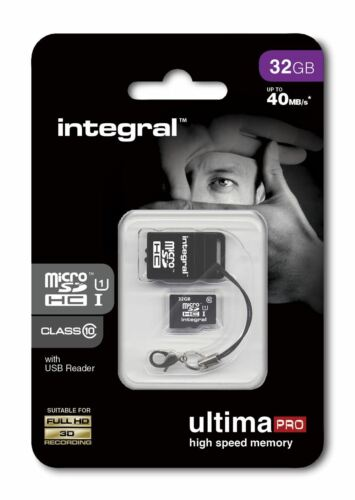 32GB Micro SDHC Class 10 Memory Card for All Dash Cam / In-Car Video Camara.