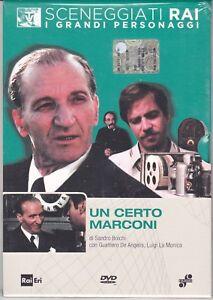 Dvd-Sceneggiati-Rai-UN-CERTO-MARCONI-di-Sandro-Bolchi-completa-nuovo-1974