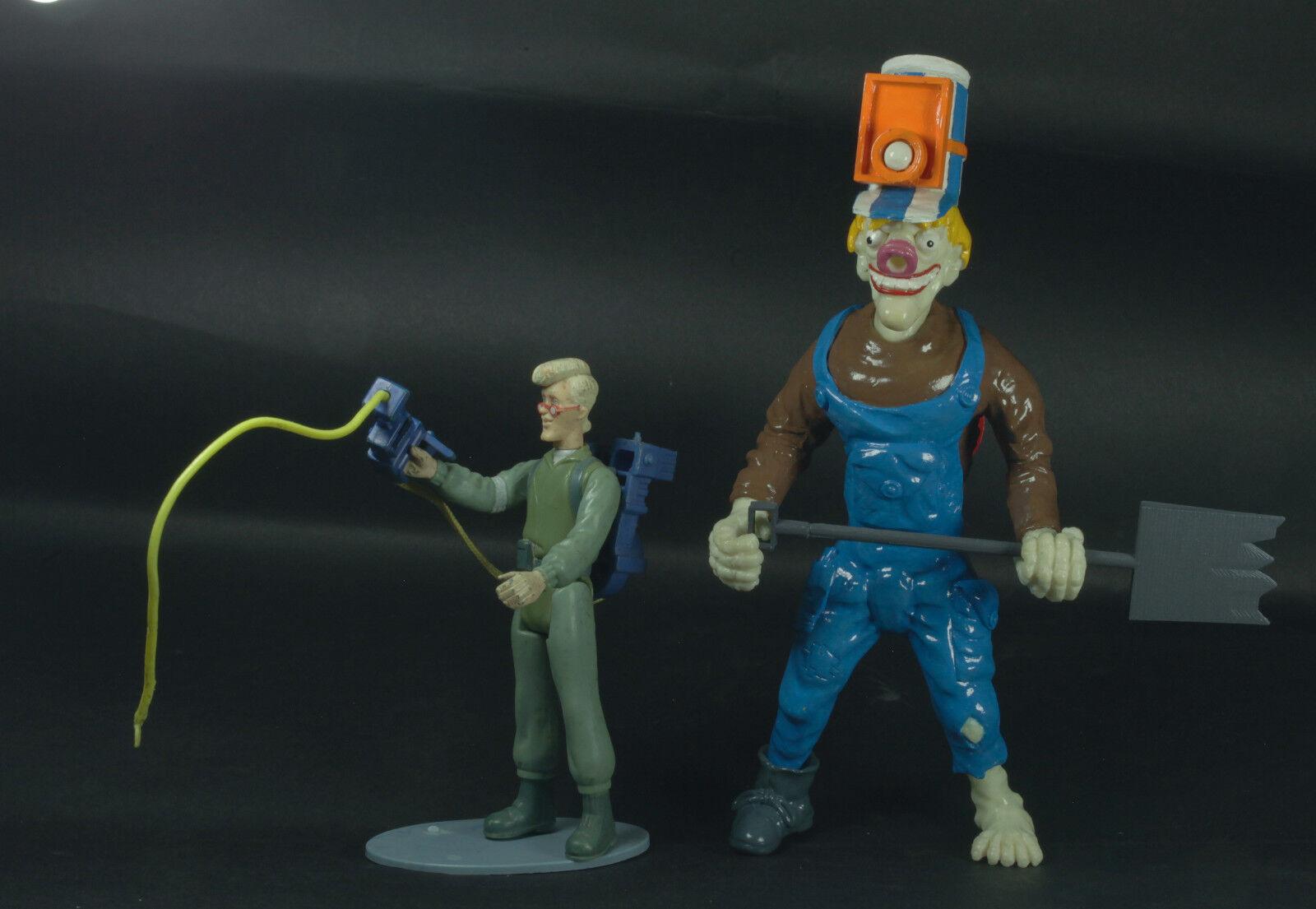 The Real Ghostbusters kenner custom Train haunter 10  Epok Slimer Gooper
