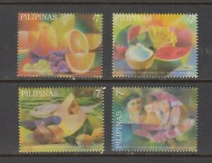 Philippine-Stamps-2006-Pastel-Paintings-NSCM-set-MNH