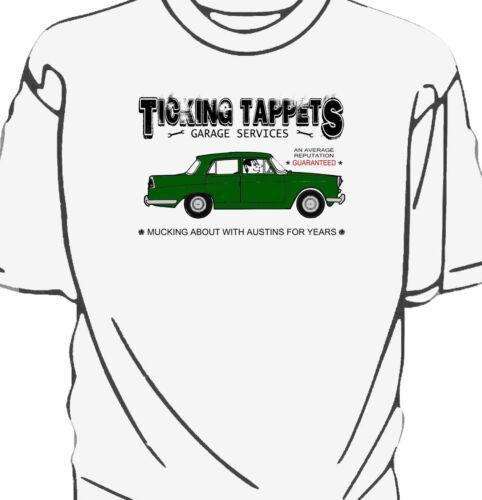 Austin A110 Westminster /'Ticking Tappets Garage Services/' t-shirt