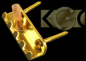 Details about Killer Brass Claw - Tremolo Spring Claw -Fits- Strat, Ibanez,  Upgrade-Not Bent!!