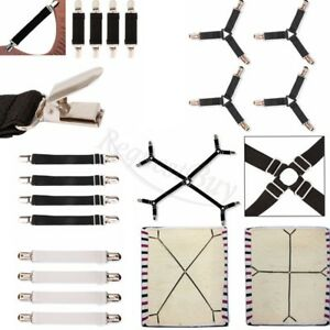 Crisscross-Bed-Fitted-Sheet-Straps-Suspenders-Gripper-Holder-Fastener-Adjustable