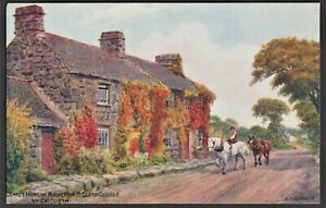 A-R-QUINTON-postcard-Early-Home-of-Lloyd-George