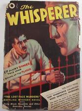 WHISPERER PULP DEC 1937 LOST FACE MURDERS CLIFFORD GOODRICH FRANK GRUBER