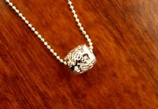 Hawaiian Jewelry 925 Sterling Silver HonuTurtle Barrel Pendant Necklace SP80791