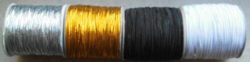 Hutgummi 1,5 mm  Gummi Kordel Gummiband elastic €1,45//m 2 Meter