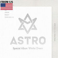 Winter Dream Album Astro Special Cd+poster+photocards+postcard+paper Stand+gift