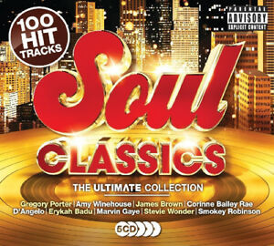 Various-Artists-Soul-Classics-CD-Box-Set-5-discs-2017-NEW-Great-Value