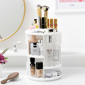 Merveilleux Image Is Loading Makeup Cosmetic Rack Holder 360 Degree Rotating Organizer