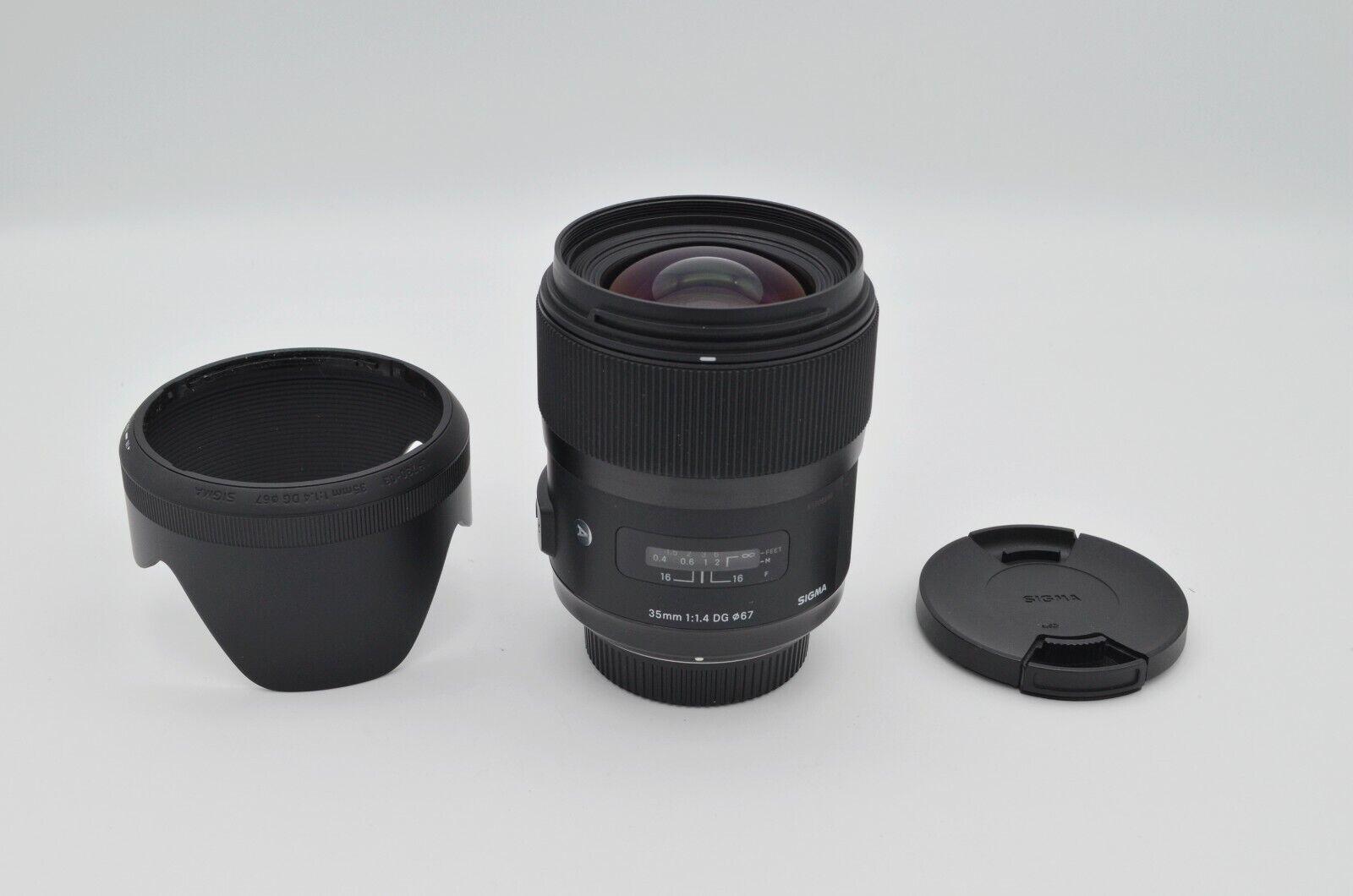 Kostenloser Versand landesweit. Sigma AF 35 mm f/1.4 DG HSM Art ...