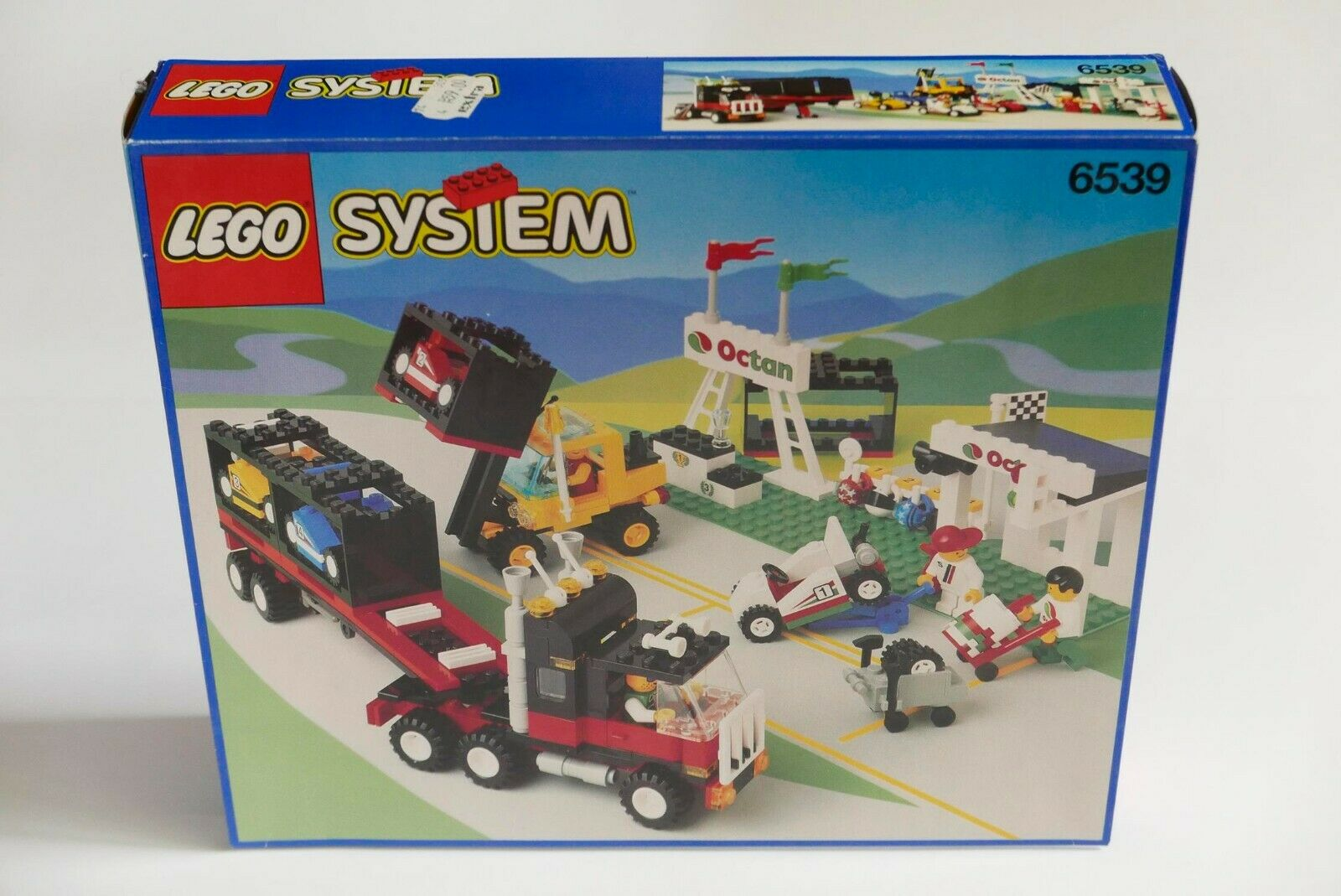 LEGO System Town 6539 Victory Cup Racers NEW RARE Vintage MISB MINT