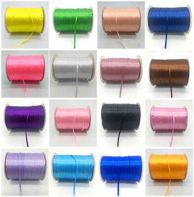 "Organza Ribbon Bow Hair Wedding Decoration Lace Crafts CA 3mm 1//8/"" 20yards//lot"