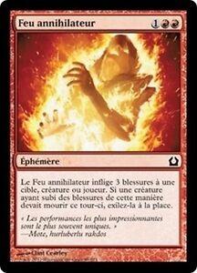 Shivan FireFeu shivân FrenchVF x4 MTG Magic DOM